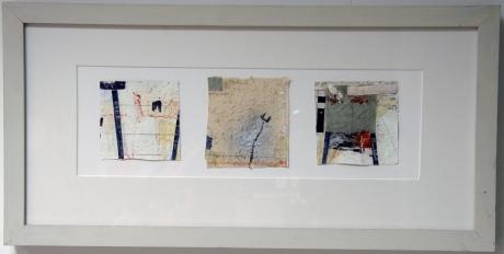 triptych on woodchip