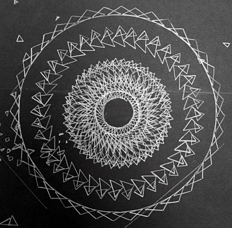 detail of burst